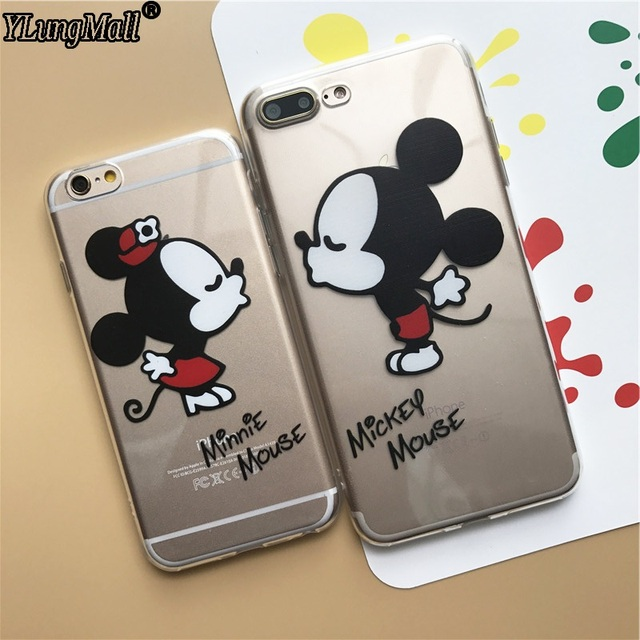 coque iphone 8 silicone minnie