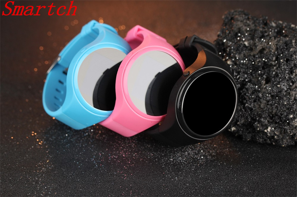 Smartch T88 Bluetooth Kids Smartwatch Phone Smart Baby Watch Round Screen MTK2503 2G Smart Wristwatch SOS WiFi GPS Wacth Pedomet