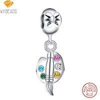 925 Sterling Silver Bead Enamel Butterfly Floating Beads For European Bracelet DIY Fashion Jewelry