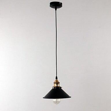 Appareils d'éclairage de pendentif LED de fer de Loft américain pour la barre de salle à manger de salon accrochant la lampe
