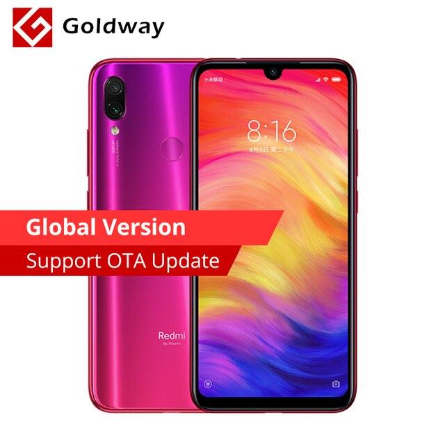 "Global Version Original Xiaomi Redmi Note 7 4GB 64GB Smartphone Snapdragon 660 Octa Core 6.3"" FHD+ 48MP+5MP Dual Camera 4000mAh"