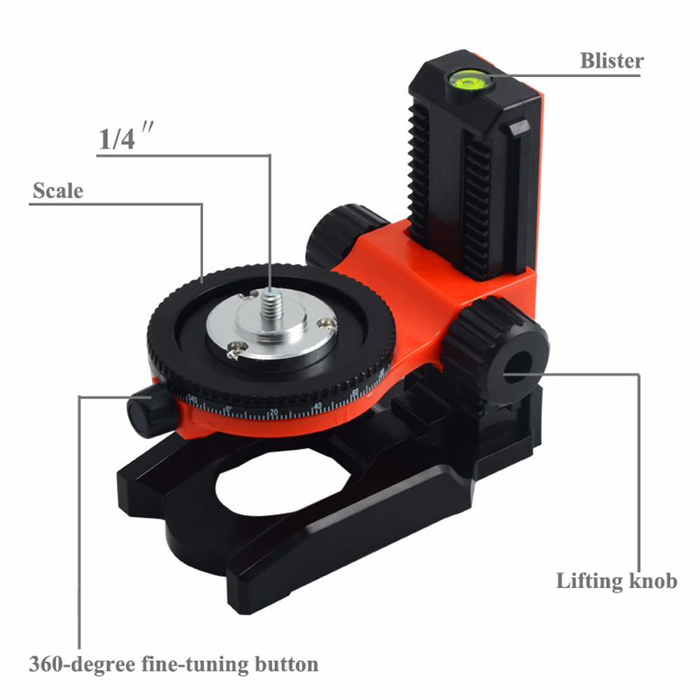 "Image 4 - FIRECORE F905 1/4"" Interface Adjustable Scale Bracket For Mini Laser Level Self Leveling Bracket Base Can Adjusting Up And Down-in Instrument Parts & Accessories from Tools"