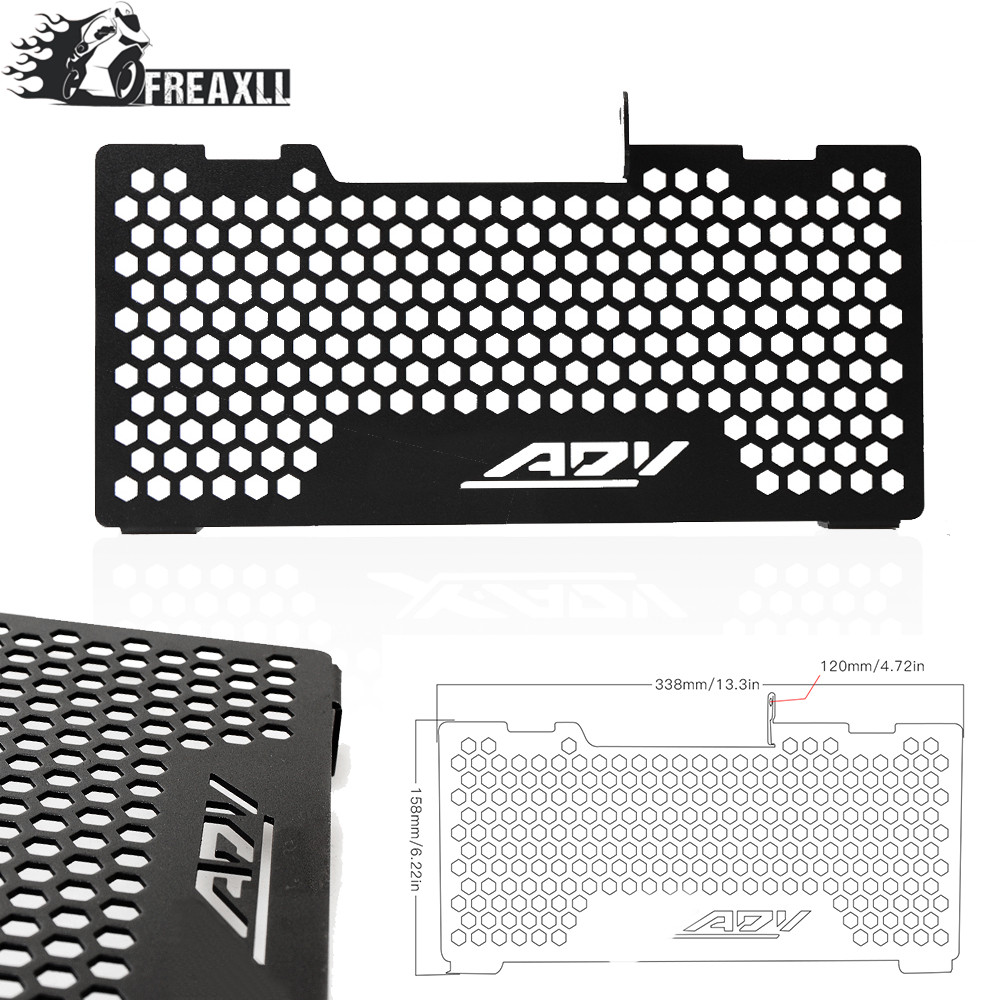 Motorcycle Moto Motorbike Accessories Radiator Guard Protector Grille Grill Cover For HONDA X-ADV X ADV 750 2017-2018 pitbike image