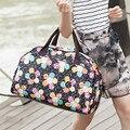 Новый 2016 Моды Багажа Дорожные Сумки Случайные Печати Вещевой Мешок Большой Емкости Качество Полиэстер Женщин Сумки Для Путешествий