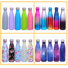 17OZ Vacuum Insulated Water Bottle Outdoor Water Bottle Stainless Steel Thermos Bottle Flasks Double-Wall Insulation Vacuum Mug(China)
