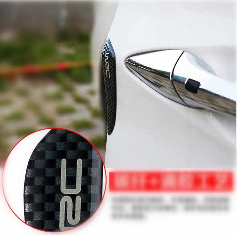 Perlindungan PINTU MOBIL stiker UNTUK Nissan TIIDA Qashqai X-TRAIL Skoda Octavia Fabia Renault Clio IX35 IX25 aksesoris MOBIL Ford