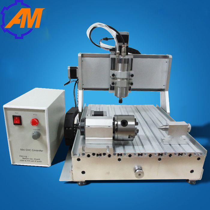 800w spindle motor 4 axis ball screw USB2.0 port 3040 mini 3d cnc router for wood and marble, wood plunge router cheap price mini cnc router 2520t 3 axis 200w spindle for new user or school tranining