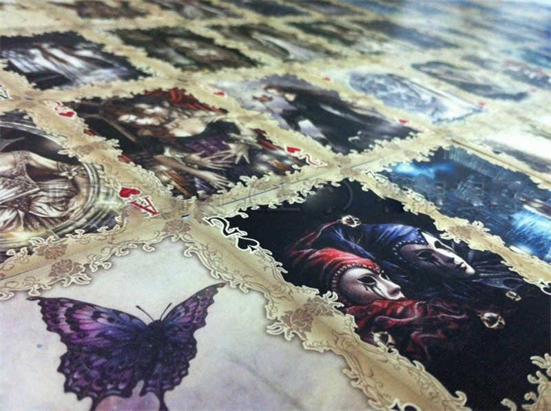 Велосипед Favole колода игральные карты коллекционные Виктории Франсис Готический подземный мир Волшебные трюки колоды