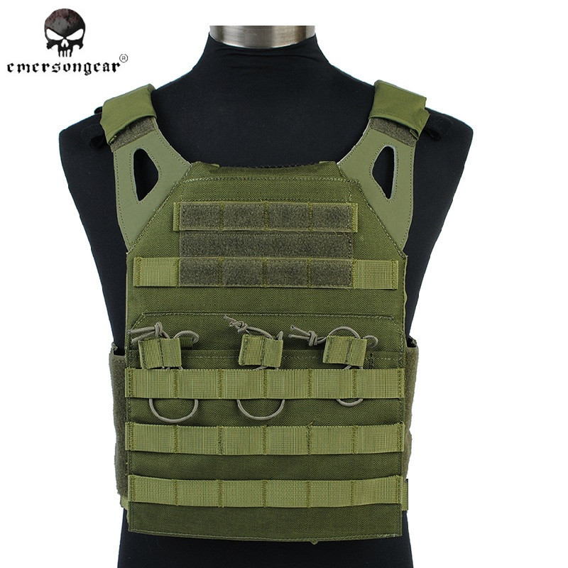 ФОТО Emerson JPC Tactical Vest Simplified Version 1000D Airsoft Army Gear Outdoor Sports Paintball Combat Hunting Vest EM7344