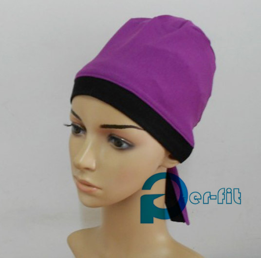underscarf cross front head cover chemo bonnet  inner hijab headwrap 3 colors available 45pcs/lot free ship