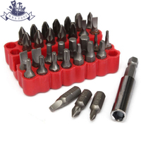 2set 33pcs Security Bit Set Tamper Proof Screwdriver 1 4 Driver Drill Bits Screw Driver Bits