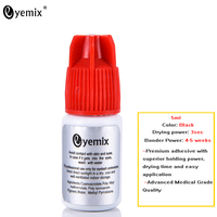 Eyemix 5 Ml Fast Drying Individual Eyelash Extension Glue Black Lash Adhesive Quick Dry Eyelash Adhesive