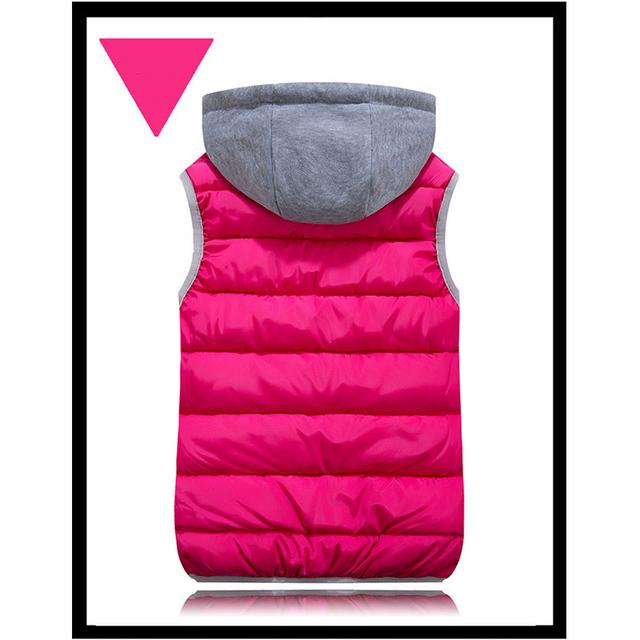 Winter Warm Cotton Woman's Waistcoat