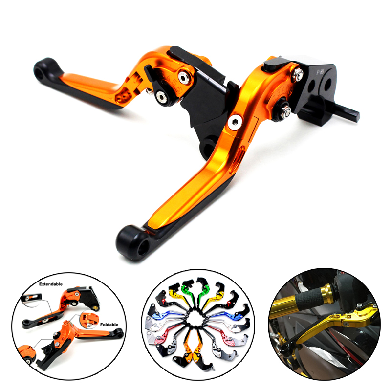 Motorcycle CNC adjuster Clutch Brake Levers clutch lever For KTM 690 Duke/SMC/SMCR 2014-2016 690 Enduro R 2014-2016 mtkracing cnc aluminum brake clutch levers set short adjustable lever for ktm adventure 1050 690 duke smc smcr 690 enduro r
