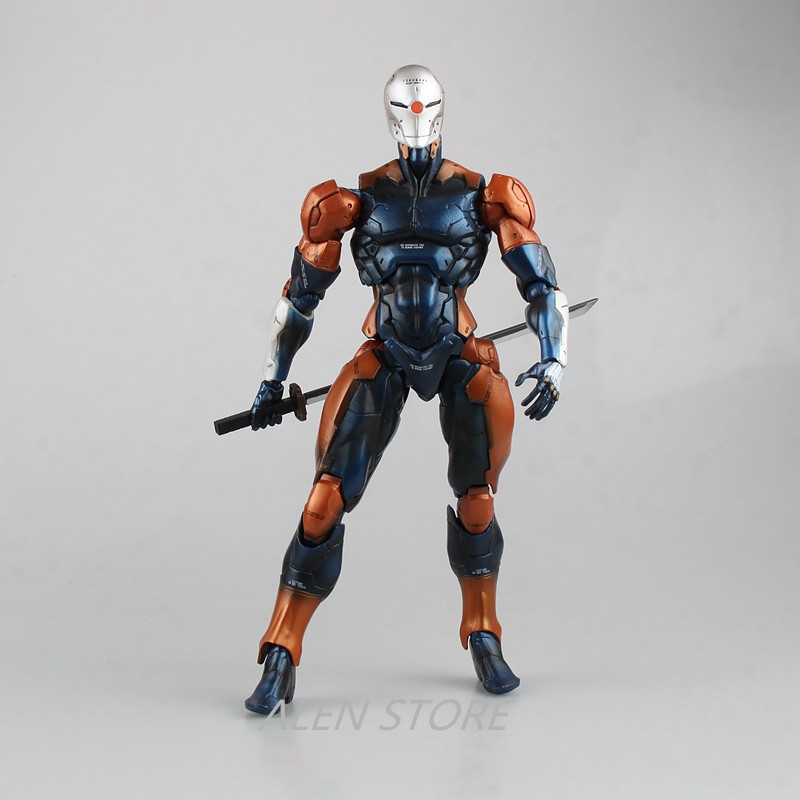 ALEN play Arts Kai Metal Gear Solid V Gray fox Action Figure Toys 24cm Kids Gift Collection Model