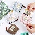 Модная женская сумочка для прокладок пенал органайзер  сумка для хранения на молнии кошелек для путешествий карман для полотенец коврик Кр...