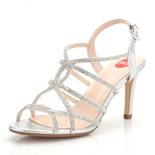 New style sandals for women in 2019 fashionable hollow cross-strapped high-heeled shoes  large size womens