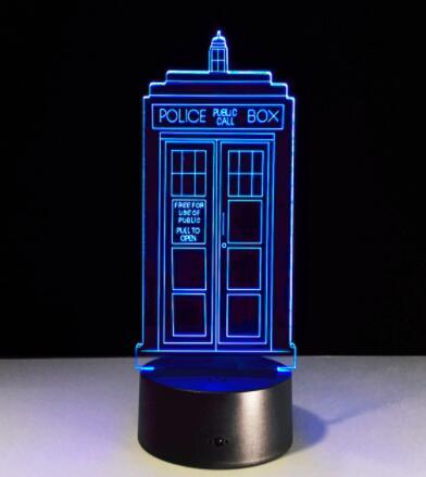 Enlaces de envío directo para Doctor Who Dropshipper Link 100CM luces USB cola de caballo