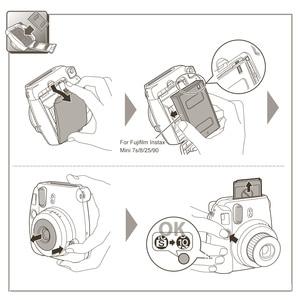 Image 4 - Original 100 Sheets Fujifilm Instax Mini Film Photo Paper Snapshot Album Instant Print for Fujifilm Instax Mini 7s/8/25/90/9