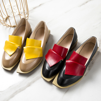 XIUNINGYAN Vintage British Style Wmen Oxford Shoes for Women Genuine Leather Flat Shoes Woman Handmade Black Real Leather Shoes