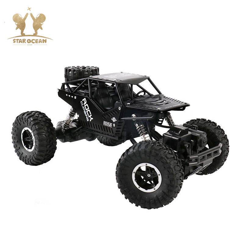 Rock Crawlers Driving Car Remote Control Off road Toys 4WD On The Radio Controlled 4x4 Drive Electric RC Cars Summer Holiday-in RC Cars from Toys & Hobbies