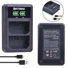 1Pc NP-FZ100 NP FZ100 LED Dual USB Battery Charger for Sony NP-FZ100, BC-QZ1 Alpha 9, A9, Alpha 9R, Sony A9R Sony Alpha 9S