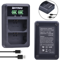Batmax NP FZ100 NP FZ100 LED Dual USB Battery Charger For Sony NP FZ100 BC QZ1