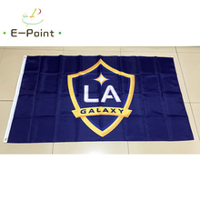 1 piece 144cm*96cm size MLS Los Angeles Galaxy Flying flag