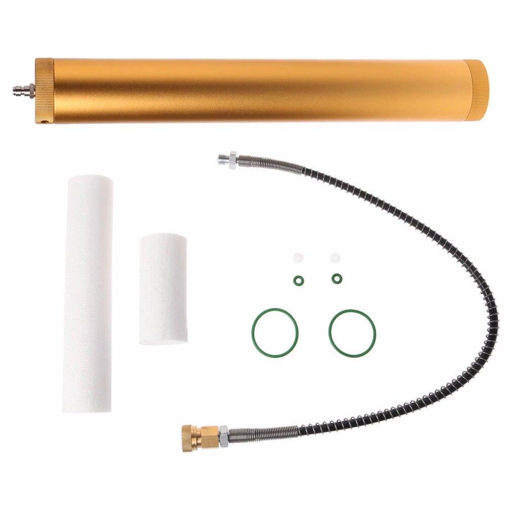 Gold Aluminum PCP compressor Oil Water Separator 30mpa 4500psi 310bar For High Pressure Air Filter
