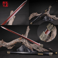 Fantasy Chinese Sword Manganese Steel Full Tang Sharp For Cutting Home Decoration/ Novel Souvenir Rose Wood New Supply