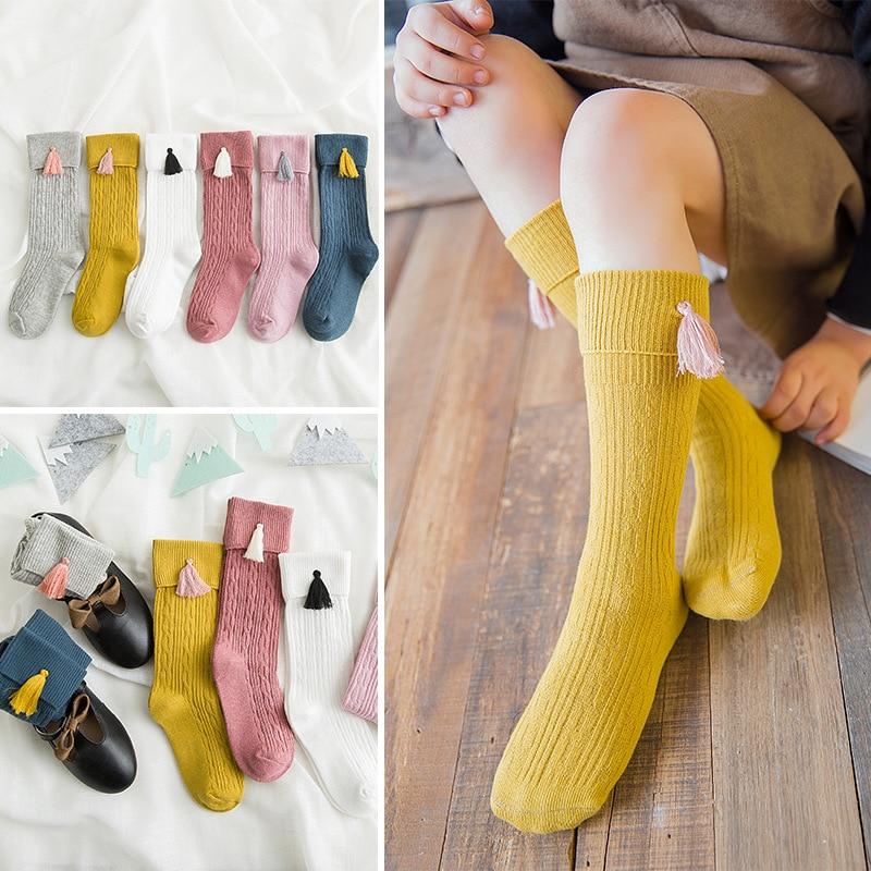 Socken Frühling Herbst Jungs Mädchen newbaby solide Baumwolle Atmungsaktiv
