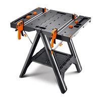 Wx051 Folding Portable Quick Clamp Multi Function Console Household Carpentry Machinery DIY Electrician Repair Room