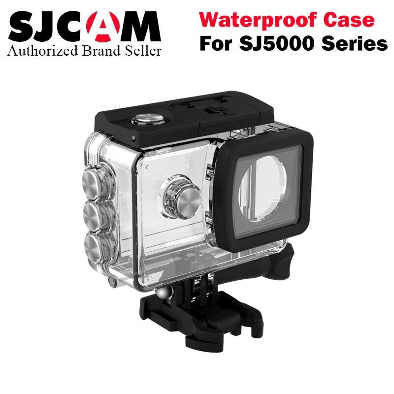 SJCAM sj 5000 wifi SJ5000X Case Underwater Waterproof Diving Housing case protective box for SJ CAM