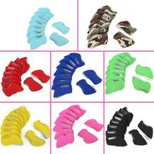 10pcs Golf Irons Headcover Iron Putter Head Protective Cover Golf Club Head Cover Golf Accessories 8 Colors(China)