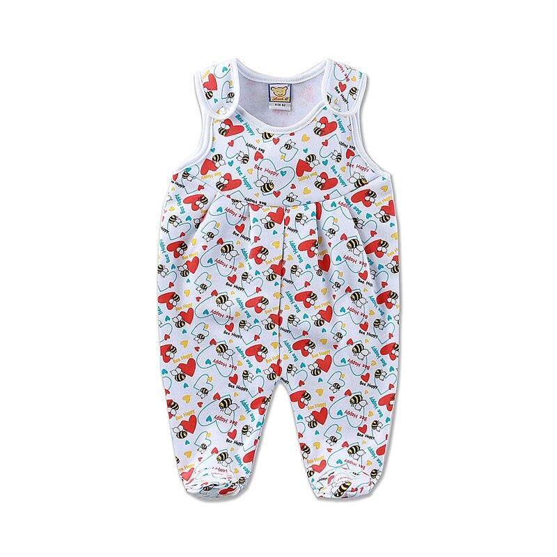 2017 Little Q baby boys cotton blend sleeveless one piece jumpsuit newborn girl winter spring fleece