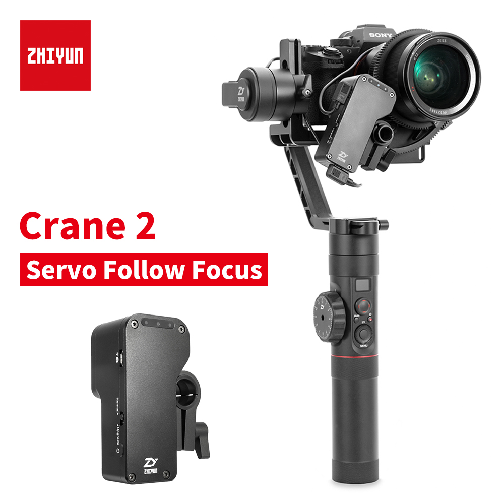 zhi yun Zhiyun Official Crane 2 accessory Servo Follow Focus for All Canon Nikon Sony DSLR Camera With Zhiyun Handeld Gimbal linux wifi ethernet usb all in one iduino yun cloud compatible replacement for arduino yun