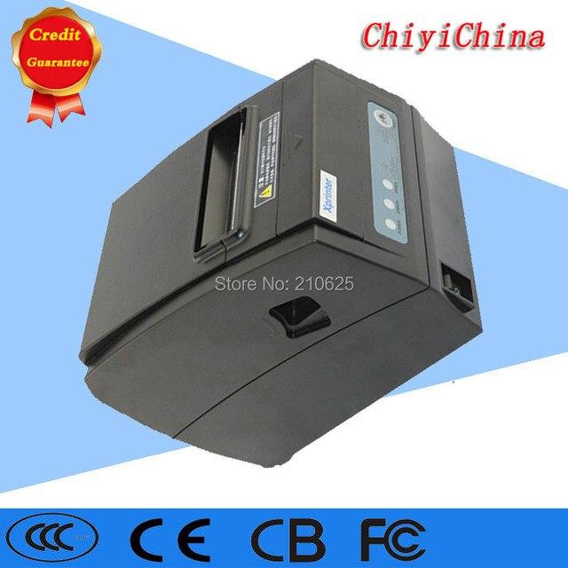 Точка продажи тепловой чековый принтер XP260 автоматический резак 3 в 1 интерфейсы USB LAN Последовательный RS232 скорость печати 260 мм/сек.