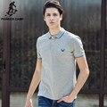 Pioneer Camp 2017 новое лето мужчины polo рубашка хлопка с коротким рукавом майки бренд одежды 677031
