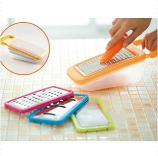 Free shipping fruit and vegetable tools grater metal At home pattern high quality multifunctional shredder shavians set grater