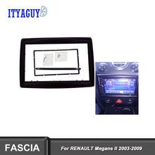 Fascias для RENAULT Megane II 2003-2009 Автомагнитола 2DIN рамка Стерео отделка комплект панель приборная панель установка Лицевая панель