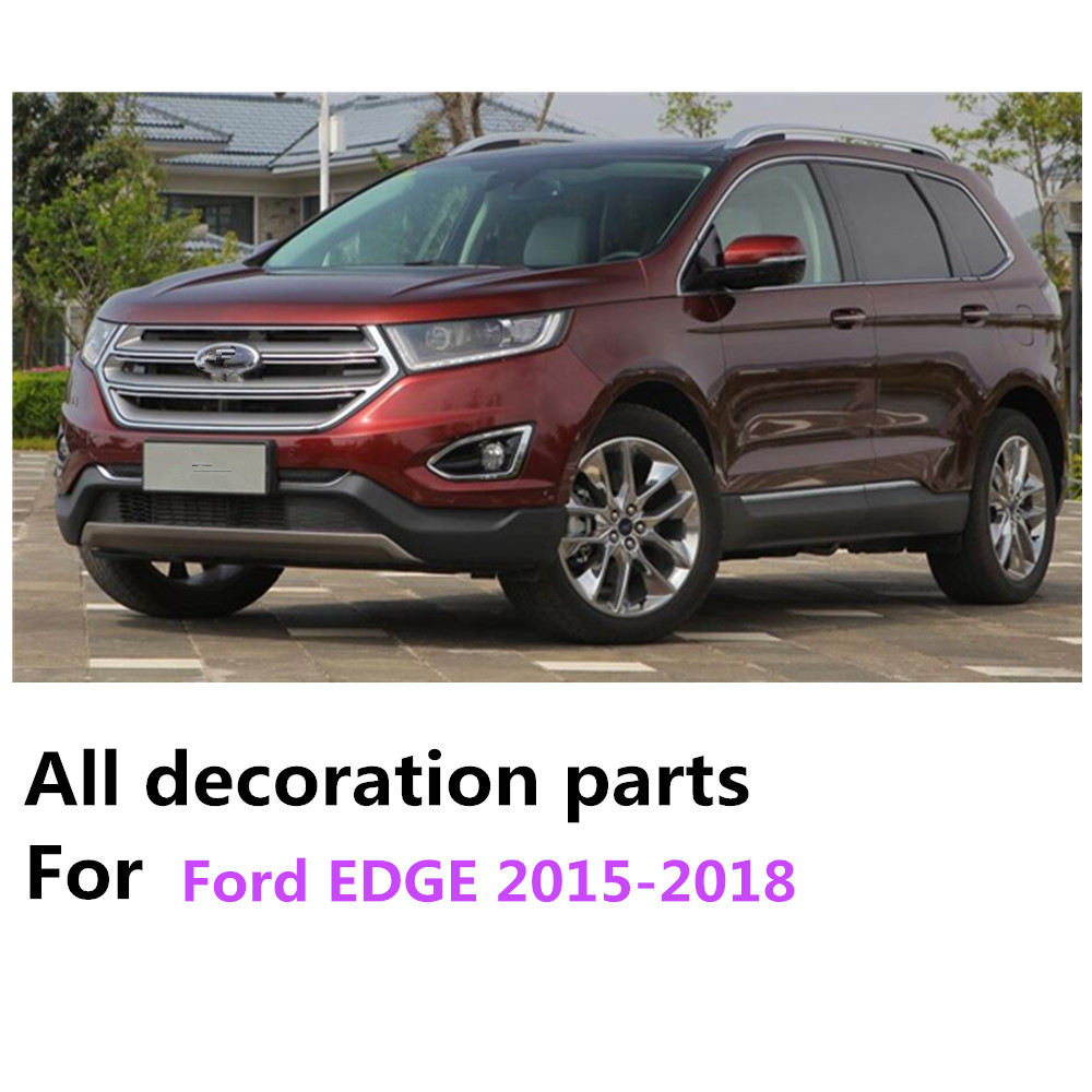 For Ford Edge   Car Style Body Gas Fuel Oil Tank Cover Cap Stick Styling Abs Chrome Auto Car Parts Hoods Pcs In Interior Mouldings From