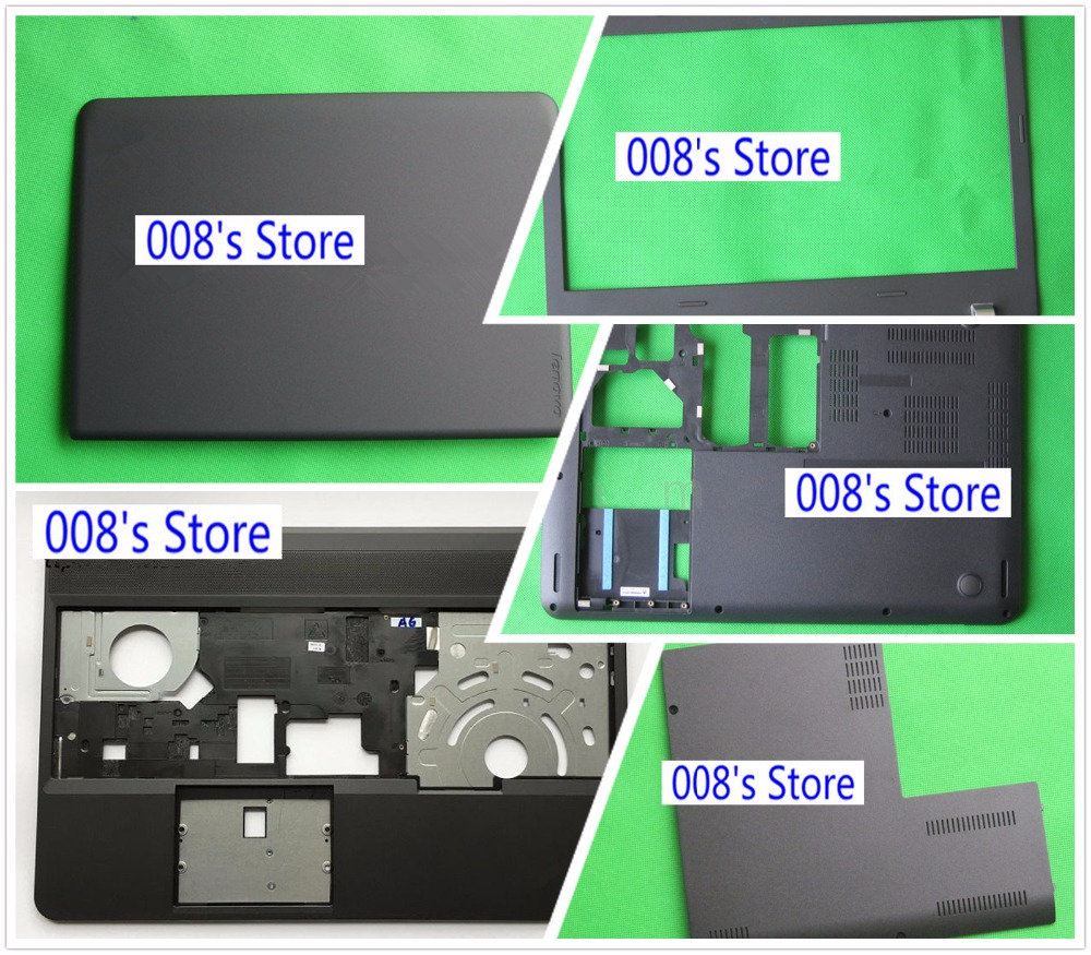 NEW LCD Back Front Bezel Palmrest Upper Bottom Base Cover For <font><b>Lenovo</b></font> <font><b>ThinkPad</b></font> Edge <font><b>E550</b></font> E555 E560 E565 Rear Lid Top Case image