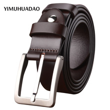 New Designer belts for males pin buckle Real leather-based Males's Luxurious Model male strap top quality denims High Trend free transport