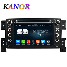 KANOR 4G 32G 2 din android 6 0 car dvd for suzuki grand vitara 2005 2011