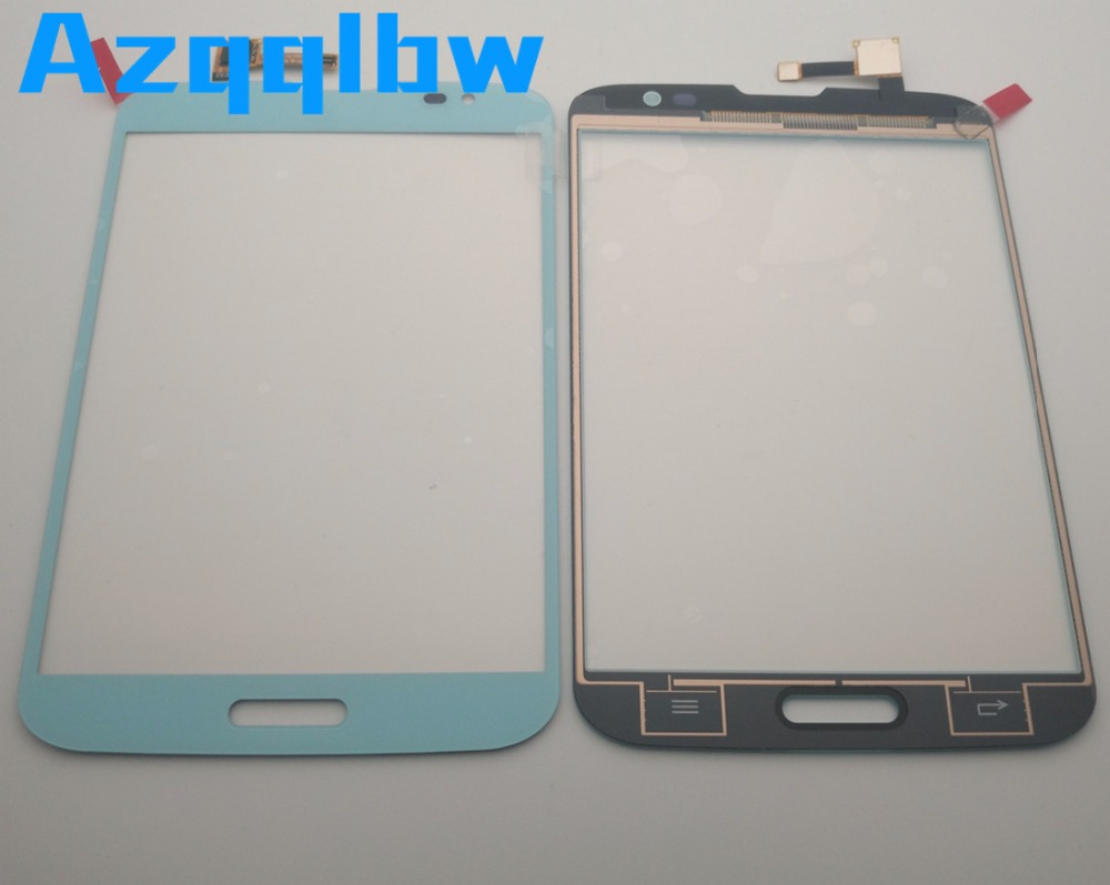 Azqqblw  For LG F300  Touch Screen Digitizer Sensor Front Glass Panel Blue /black Color+adhesive Tape