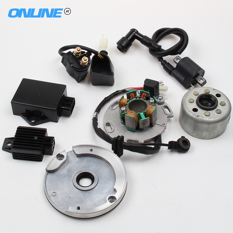High Performance Racing Magneto Stator Rotor Kit Dirt Bike LF for Lifan 150cc CDI Use for motorcycles accessories lifan 125 125cc engine left crankcase stator rotor casing case dirt bike atv