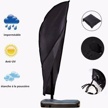 Umbrella Cover Parasol Garden Beach Waterproof Outdoor Protective Patio Offset Cantilever Rain Cover with Zipper Accessories(China)