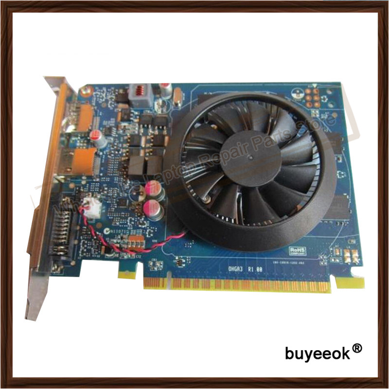 Original  GTX 650M GTX650M  Graphic Card For DELL GT640 1GB 1024MB DDR5 GTX650 Display Video Card GPU Replacement Tested Working copper infrared intelligent automatic induction type single tap faucet wash