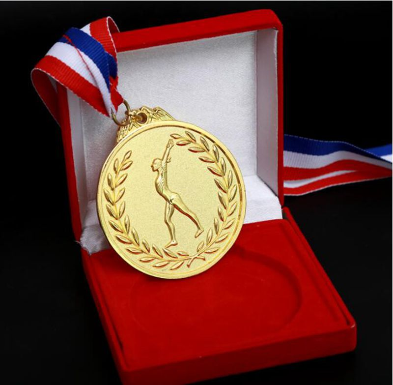 High Quality!Custom Best Quality Sports Meet Gold Silver Bronze Medal/ Gymnastics Medal,Free Shipping!