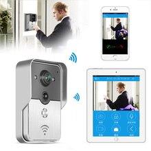 Wireless Wifi IP Camera Doorbell Wireless Video Intercom Phone Control IP Door Phone Smart Doorbell for iphone free shipping